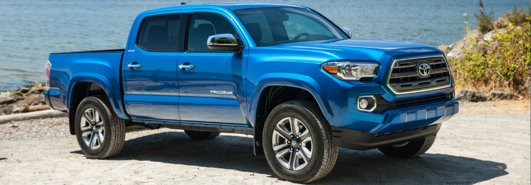 2017 Toyota Tacoma payload and towing capacity