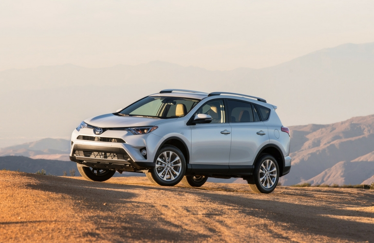 How much can the 2017 Toyota RAV4 tow?