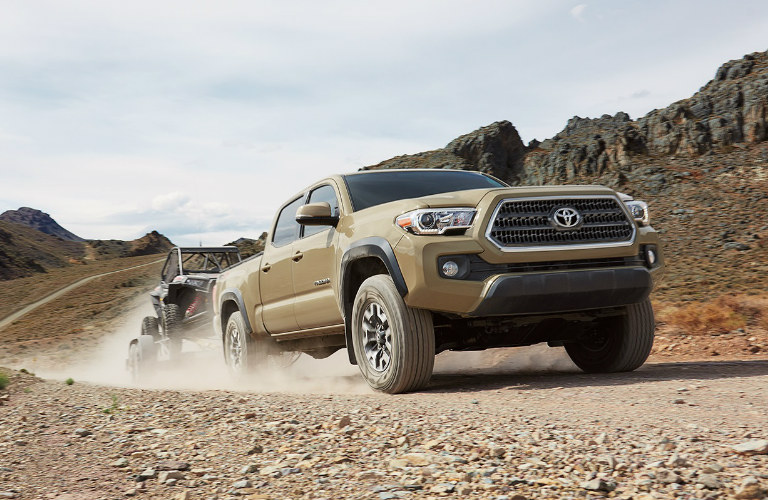 How much weight can the 2017 Toyota Tacoma tow?