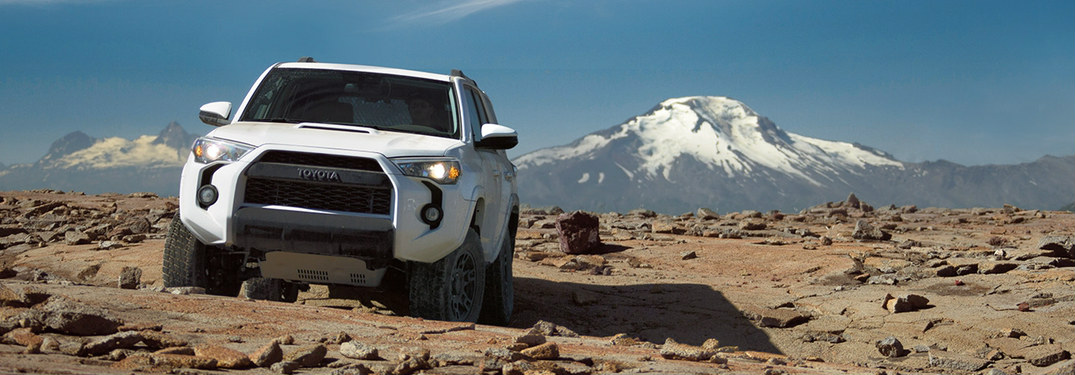 2018 Toyota 4Runner cargo and towing capacity