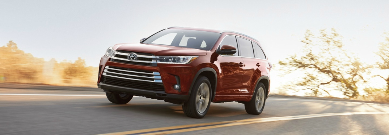 2018 Toyota SUV Comparison