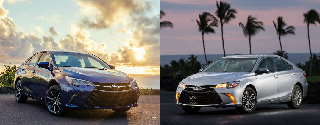 Differences Between Toyota Camry LE and Toyota Camry SE