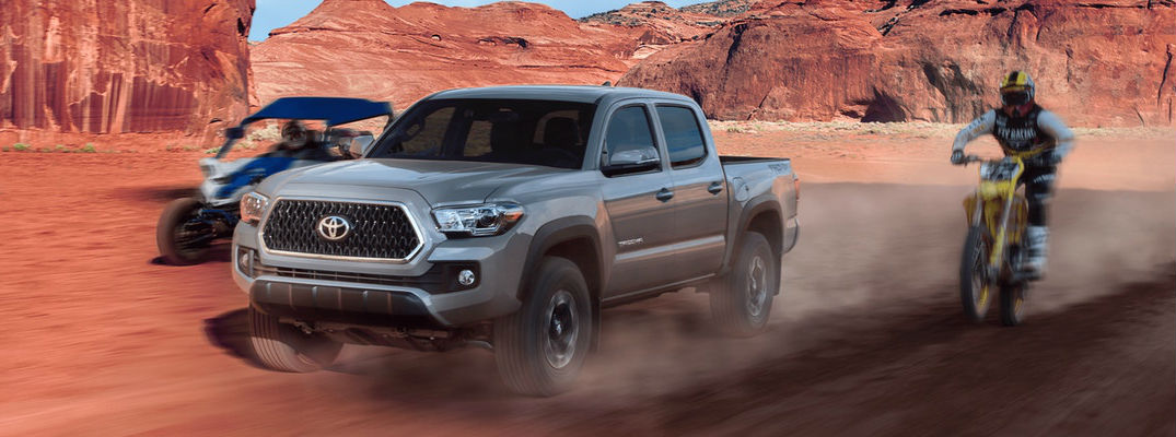 what are the 2018 toyota tacoma interior and exterior color options