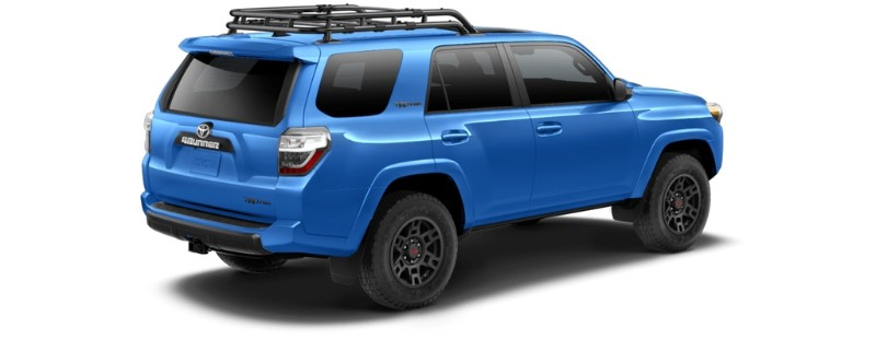 what are the 2019 toyota 4runner exterior color options