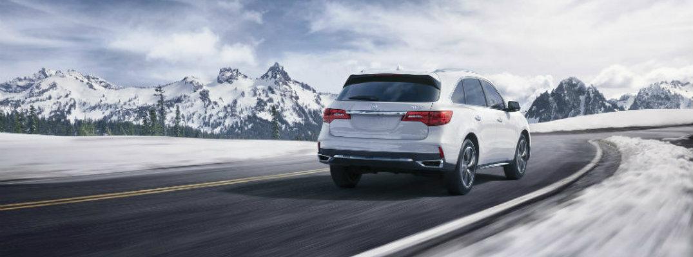 2018 Acura MDX Fuel Economy and Maximum Highway Driving Range