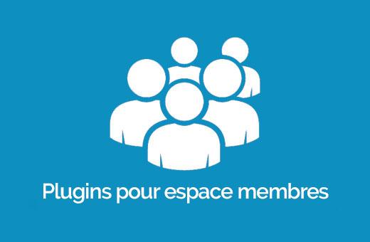 creer espace reserve membres wordpress