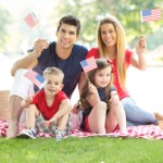 Fourth Of July Family