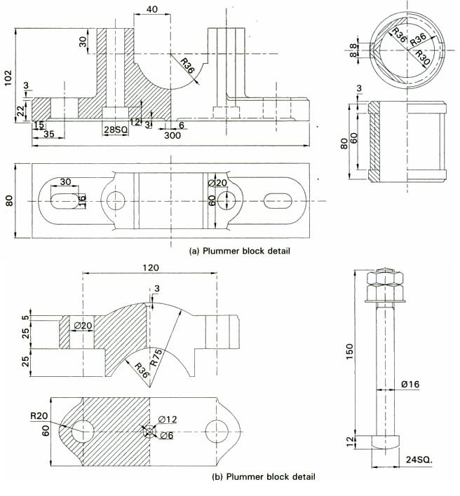 block diagram of 8086 based microcomputer