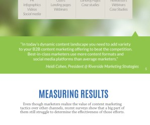 Facts You Must Know about Content Marketing [Infographic]