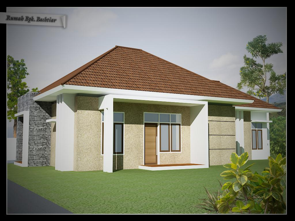 Rumah Sederhana Tapi Menawan 1 Lantai Ukuran Lahan 10 M X 17 M