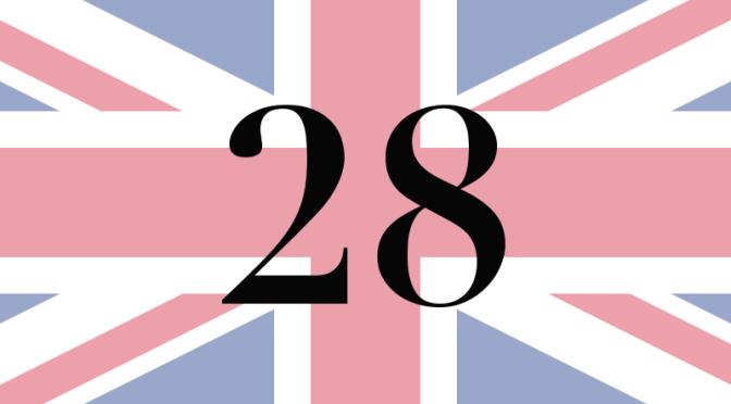Number 28 – Jun 23rd, 2016