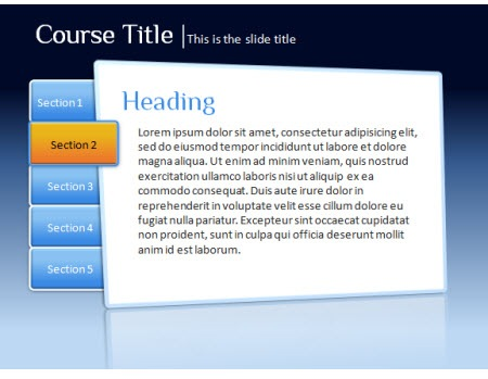 Speed Up Your Interactive E-Learning with These Free PowerPoint - interactive powerpoint template