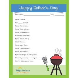 Small Crop Of Fathers Day Questionnaire