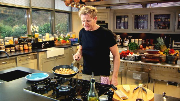 La Cocina De Gordon Ramsay Nutrition | Gordon Ramsay And His Ironman Journey