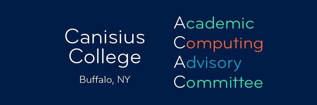 Academic Computing Advisory Committee Meeting: 1 March 2017