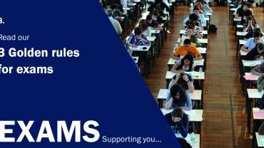 Exam Blog 3 Golden Rules