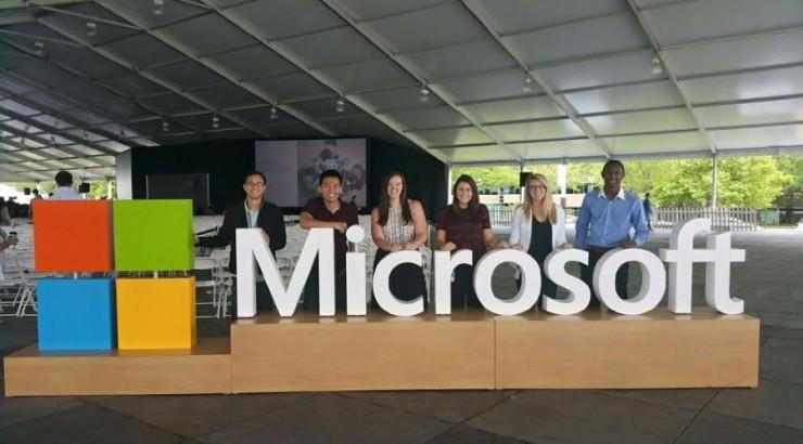 Career Spotlight Argyros School Student at Microsoft - Jessie Dart - interning at microsoft