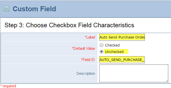 Automating Emailing Purchase Orders to Vendors CLA