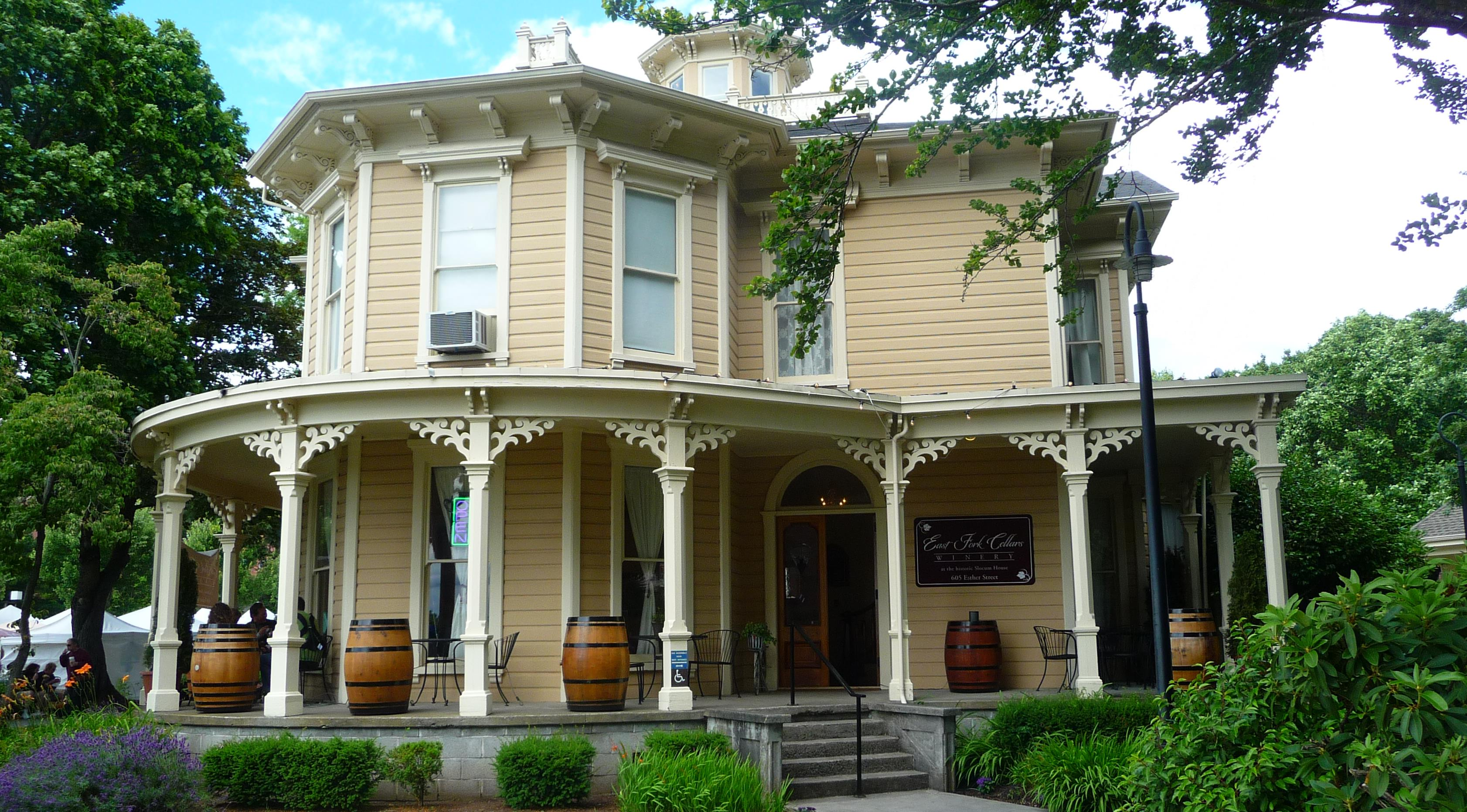 Inspirational East Fork Cellars Took Up Residence Inside Circa Historic Slocumhouse Nov Corks Forks Family Matters House Price Family Matters House 2018 August 2013 Weekend Wrap Up curbed Family Matters House