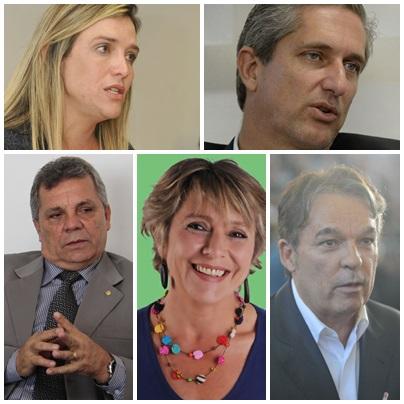 Montagem candidatos governo