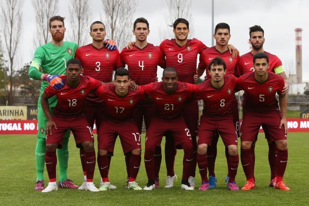 Portugal vice da Euro Sub-21 2015: só quatro titulares na Rio-2016 Foto: Reprodução/bleacherreport
