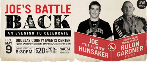 "The flyer for the ""Joe's Battle Back"" fundraising event for Joe Hunsaker. (Provided by Joe Hunsaker's Battle Back Facebook)"