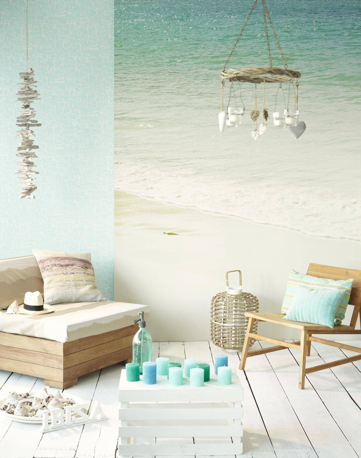Beach Home Decor Accessories Paisagens De Praia Na Parede 43 Design