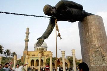 Saddam-statue