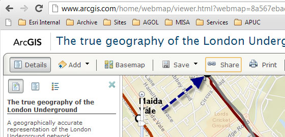 Getting Started with Story Map Templates - story map template