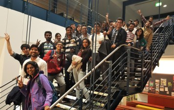 Meet and Greet event with new students (Sept, 2016)
