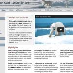 Calentamiento global origina cambios en el Ártico