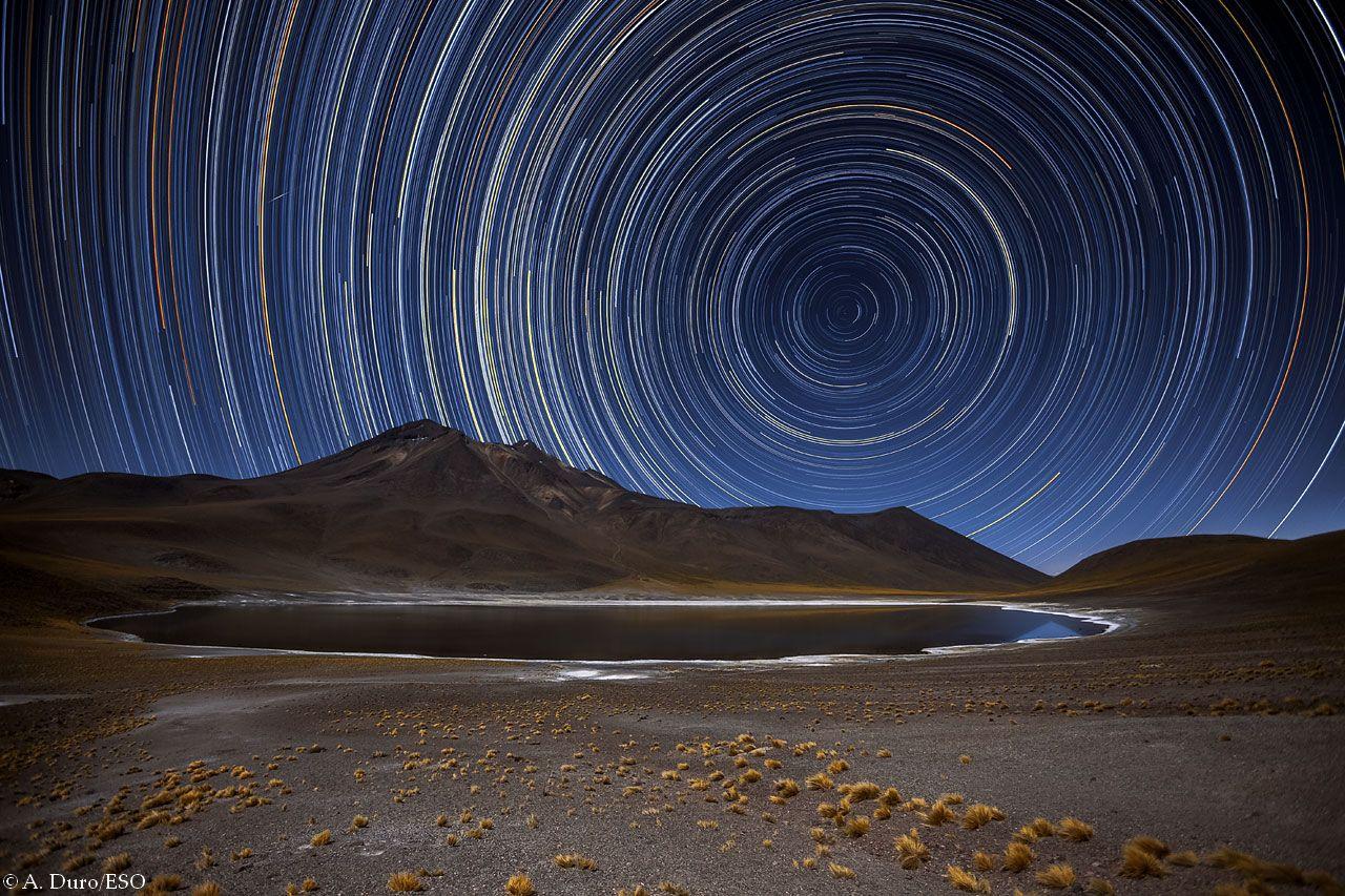 Falling Stars Live Wallpaper D 233 Sert D Atacama Par Jean Baptiste Feldmann