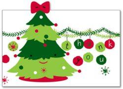 Small Of Christmas Thank You