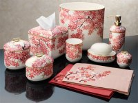 Coral Colored Bathroom Accessories Pictures to Pin on ...