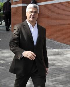 Funeral del abogado Luis Olivencia, hijo del D. Manuel Olivencia