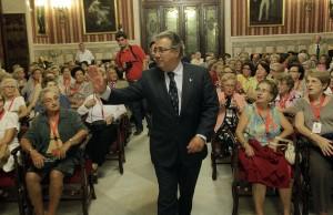 """El alcalde de Sevilla, Juan Ignacio Zoido, Juan Ignacio Zoido inaugura el curso """"Temas Sevillanos"""""""