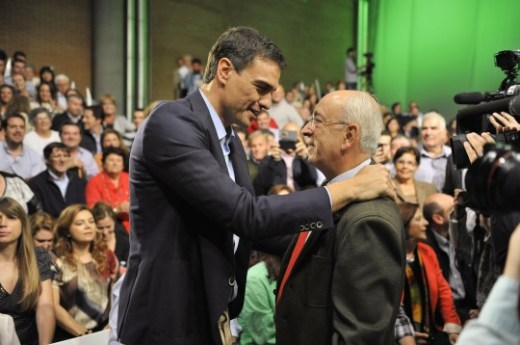PSOE Susana Díaz, Pedro Sánchez, Juan Espadas, y Verónica Pérez en Sevilla