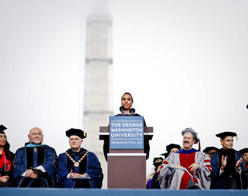 Alumna and actress Kerry Washington will receive Harvard's Hasty Pudding's Woman of the Year award later this month. Hatchet file photo by Cameron Lancaster | Contributing Photo Editor