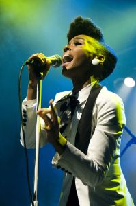 Janelle Monáe has won six Grammy's. Photo by Wikimedia Commons user Bobamnertiopsis under a CC BY-SA 3.0 license