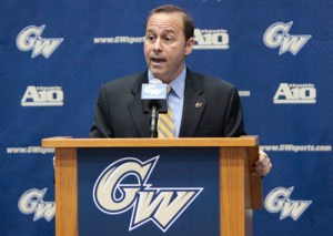 Director of Athletics Patrick Nero