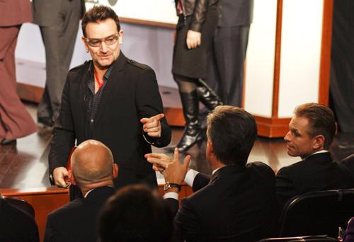 Bono, U2, HIV, AIDS