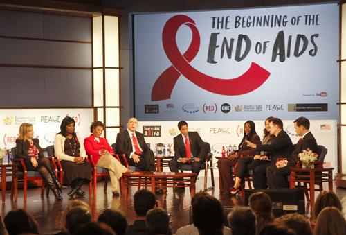 HIV AIDS panel Jack Morton
