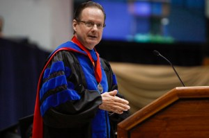 Michael Brown, dean of the Elliott School of International Affairs, announced Thursday he plans to step down from his post at the end of this year. Hatchet file photo.