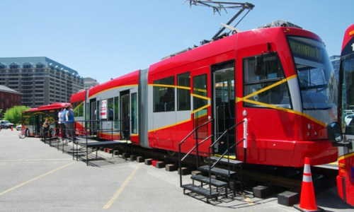D.C.'s streetcar program was cut back this Thursday.  Media Credit: Photo courtesy of the District Department of Transportation.