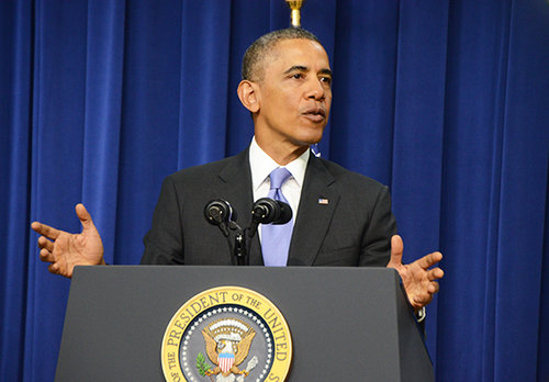 Top education officials in President Barack Obama's administration unveiled Friday the criteria that the government will use to evaluate colleges. File Photo by Sam Hardgrove | Hatchet Staff Photographer