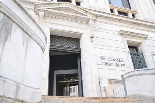 GW plans to spend more than $25 million renovating the Corcoran's aging building on 17th Street. File Photo