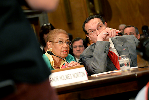 Mayor Vincent Gray testified on Capitol Hill on Monday, calling for D.C. statehood. Samuel Klein | Senior Photo Editor