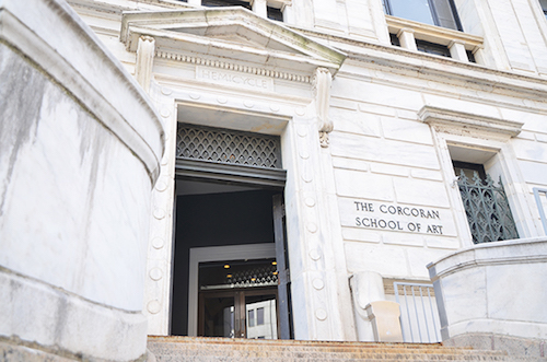 Some classes will start outside of the Flagg Building on 17th Street as renovations continue. Hatchet file photo by Sam Hardgrove   Assistant Photo Editor
