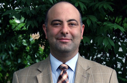 Costas Solomou will begin his position as the dean of undergraduate admissions Aug. 15. Photo courtesy of Costas Solomou