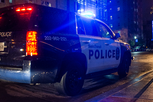 Metro suspended service after a man assaulted a Metro Transit Police Department officer and then jumped onto the tracks Friday evening. Sam Hardgrove | Assistant Photo Editor